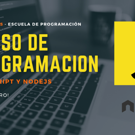 Programación con JavaScript y NodeJS